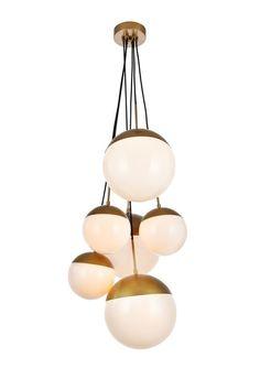 Adroit Vintage Nordic Spider Pendant Lamp Multiple Adjustable Retro Pendant Lights Loft Pendant Lights