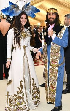 May 7, 2018: Lana Del Rey and Jared Leto at the Met Gala in New York City #LDR