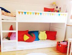 Våningssäng. Bild från Sockertoppar på Instagram