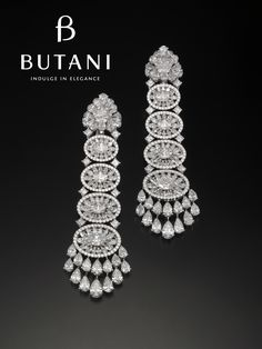 Get ready for year end celebrations starting with some diamonds #Butani #ButaniJewellery #Diamonds #Earrings #Bridal