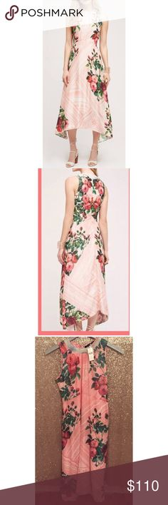 """NWT $198 Anthropologie Pankaj & Nidhi Midi Dress 🔹Pankaj & Nidhi from Anthropologie  🔹""""Butterfly Garden Midi Dress""""  🔹Beaded collar detail. Back zip.  🔹Size 4  🔹New with tags! Originally $198!  🔹Polyester  🔹Bust: 17.25"""" across the front, lying flat.   🔹Length: 46.5"""" from shoulder to hem.  ✳️ Bundle to Save 20%!  ❌ No Trades, Holds, PP, Modeling  🎀 100% Authentic!   ⭐️⭐️ Suggested User • 1800+ Sales • Fast Shipper • Best in Gifts Party Host! ⭐️⭐️ Anthropologie Dresses Midi"""