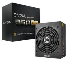 EVGA SuperNOVA 850 G2 220-G2-0850-XR 850W 80 PLUS Gold ATX12V & EPS12V Power Supply