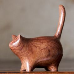 Perry Lancaster honduras_martha cat carving....i cannot explain why i want this so much.....