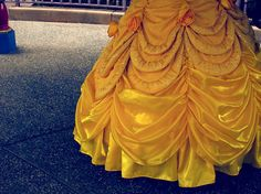 beauty and the beast, belle, disney, disney princess, dress, princess