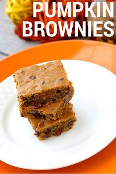 Pumpkin Spice Brownies!