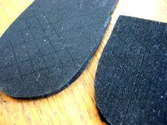 homemade shoe sole