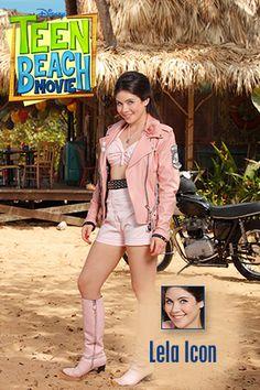 Teen Beach Movie Lela | biker outfit: for my custom Lela doll!
