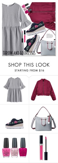 """Easy Outfitting: Throw-and-Go Dresses"" by duma-duma ❤ liked on Polyvore featuring OPI, Christian Dior and easydresses"