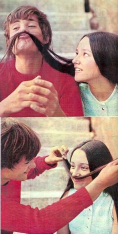 leonard whiting and olivia hussey {romeo and juliet} OH MY GOODNESS THIS IS SO CUTE