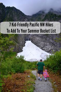 7 Kid-Friendly Pacific NW Hikes To Add To Your Summer Bucket List : If you'd love to start hiking with your kids, you're in luck! Summer in the Pacific NW is the perfect time to start hiking as a family. Hiking With Kids, Just Dream, Summer Bucket Lists, Thing 1, Canada, Freundlich, Family Adventure, Outdoor Activities, Summer Activities