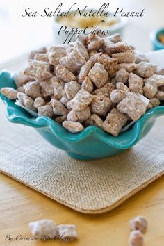 This addicting puppy chow mix makes the best sweet and salty combination.