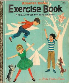 Romper Room Exercise Book Physical Fitness for Boys and Girls Nancy Claster Sergio Leone 1964 Vintage Kids Book Old Children's Books, Vintage Children's Books, New Books, Retro Vintage, Antique Books, I Love Books, Good Books, Romper Room, Exercise Book