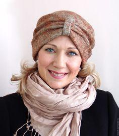 """Купить Валяная шапка """"Яшмовая"""" - валяная шапка, шапка валяная, женская шапка, войлок"""