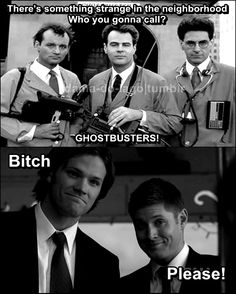 Supernatural every time!