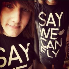 Twitter / SayWeCanFly: EVERY T-Shirt order from now ...