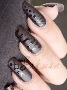 Love the matte & shine combo - but not necessarily the designs.