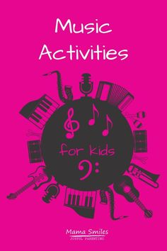 Fun ways for kids to learn music at home, and ideas for teaching music to children - even if you are not a musician yourself.  #music #homeschool #handsonlearning #teachmusic #musicathome Music For Toddlers, Educational Activities For Kids, Kids Music, Teaching Music, Teaching Kids, Kids Learning, Rainy Day Fun, Music And Movement, Kids Songs