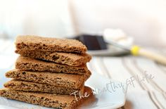 Paleo Graham Crackers (No: gluten, grains, dairy, nuts, soy, cane sugar)
