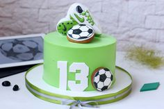 Когда футбол - твоя жизнь ☝🏻⚽🎊 Soccer Birthday Cakes, Soccer Cake, Football Birthday, Soccer Party, Birthday Cupcakes, Birthday Dinner Menu, Birthday Breakfast, Birthday Parties, Fun Cupcakes