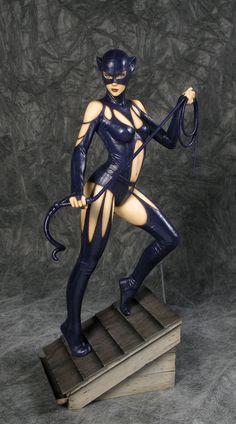 DC Comics Fantasy Figure Gallery Estatua 1/6 Catwoman (Luis Royo) SDCC 2014…