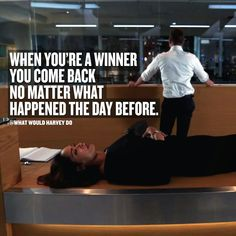 No matter how hard shit gets, I'm always coming back stronger. ALWAYS. . . . #whatwouldharveydo #gabrielmacht #jessicapearson #harveyspecter #stronger #winner #wwhd