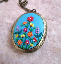 romantic wife gifts valentines day gift for her vintage style flowers by FloralFantasyDreams on Etsy Vintage Style, Vintage Inspired, Vintage Fashion, Love Necklace, Pendant Necklace, Valentines Day Gifts For Her, Jewelry Gifts, Unique Jewelry, Flower Jewelry