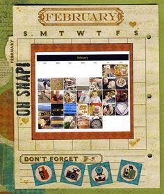 Lynn Shokoples and her February Misc. Me pages. #BoBunny, @LynnShokoples
