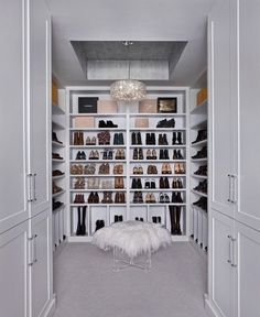 Declutter your closet with these genius shoe storage ideas.This shoe cabinet folio is perfect for space-saving and easy access to your favorite shoes. Make A Closet, Room Closet, Master Closet, Closet Space, Master Bedroom, Living Room Zones, Closet Shoe Storage, Closet Organization, Herringbone Wood Floor