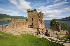 Loch Ness, Chateau Urquhart, Ecosse