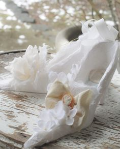 Divine white Marie Antoinette shoes OvertheTopStudios on etsy!!!!!