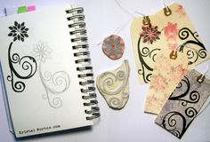 Wow... look at the beautiful stamps carved by my friend Kristal Norton. Click the picture to read her blog post and find out more about how you can create your own stamps!