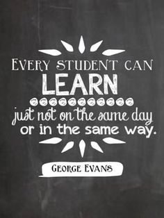 Every student can learn.