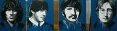 Beatles Popstars popart