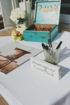 Photography: Chaz Cruz Photography - chazcruz.com  Read More: http://www.stylemepretty.com/california-weddings/newport-beach/2014/01/20/shabby-chic-balboa-yacht-club-wedding/