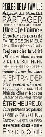 Regles famille in Canada Regles famille Family Rules, French Quotes, Positive Attitude, Kids And Parenting, Quote Of The Day, Decir No, Affirmations, Encouragement, Inspirational Quotes