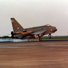 XR759 BJ Lightning Lightning Aircraft, Navy Aircraft, Military Jets, Military Aircraft, Electric Aircraft, Royal Air Force, Royal Navy, Cold War, Spacecraft
