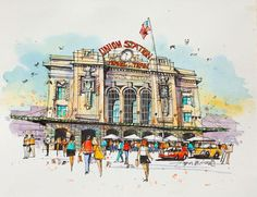 You have to see Union Station, Denver by James Richards!