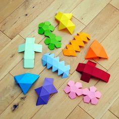 Criando decoração barata com papel colorido
