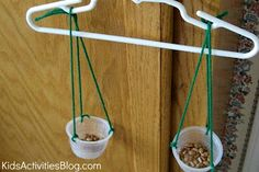 Make a simple hanger weighing scale. Then use it to explain how Allah will weigh our good & bad deeds on Day of Judgement.