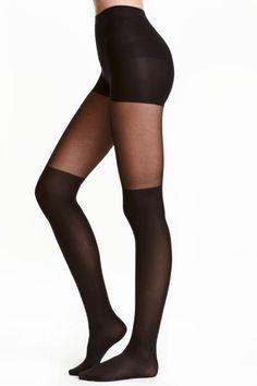 Overknee-look tights   H&M