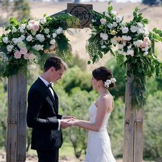 Our Rustic Arch is absolutely perfect for that unique wedding touch and made even better with the local MOSS Industry Florists ❤ At Dream Ceremony Decor we want to hear about your unique and cute proposals so we can fill the world with more stories of love and friendship. #love #weddings #weddingsgeelong #proposal #flowers #dream #keepingjobslocal #geelong