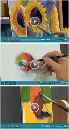 134 Free DIY Oil Painting Videos - Jerry's Atrarama lets you enjoy more than 130 free oil painting how-to video demonstrations by some of the best known artists in the world. Beginner or advanced, you'll find helpful advice and techniques for your oil portraits, landscapes, seascapes and more. (Photo: Oil Painting video demonstrations by  Nicole Kennedy, Dick Ensing and Mike Rooney) Click through to learn while watching your favorite videos.