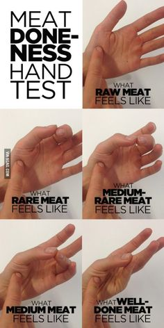 How to test how cooked your meat is