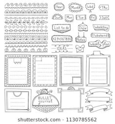 Bullet Journal Art, Bullet Journal Ideas Pages, Text Design, Study Notes, Tag Art, Doodle Art, How To Draw Hands, Doodles, Notebook