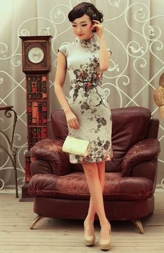 Perfect cheongsam for graduation?