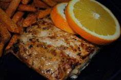 Homemade By Holman: Orange Ginger Mahi-Mahi
