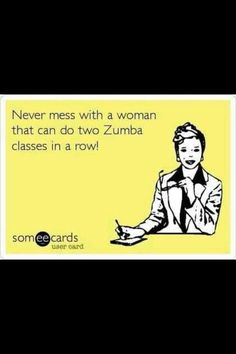 Yes! Totally working my way up to this! I am loving Zumba!