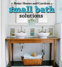 Bring big style to a small bathroom In these tough economic times, more and more people are downsizing their living spaces to smaller, more functional homes. But as typical living quarters become smal