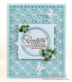 KC Taylored Expressions Circle Cutting Plate 1 center