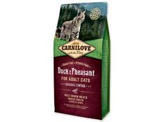 Carnilove Duck & Pheasant for Adult Cats – Hairball Control 2kg. has been formulated with respect for the natural composition of the feline diet.
